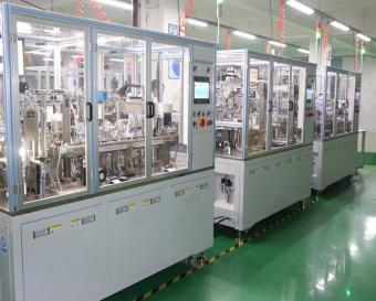 Aluminum valve assembly machine